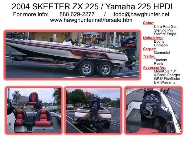 Skeeter  Ranger Boats Used On Florida For Bass Fishing Demo