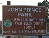John Prince Park Entrance