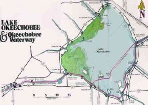 Lake Okeechobee Map