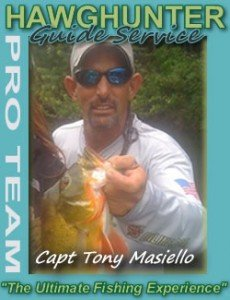 South Florida bass fishing guide Tony Masiello