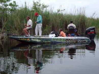 Everglades Bass Fishing