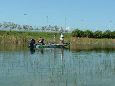 Miami Speedway Bass Fishing Lake
