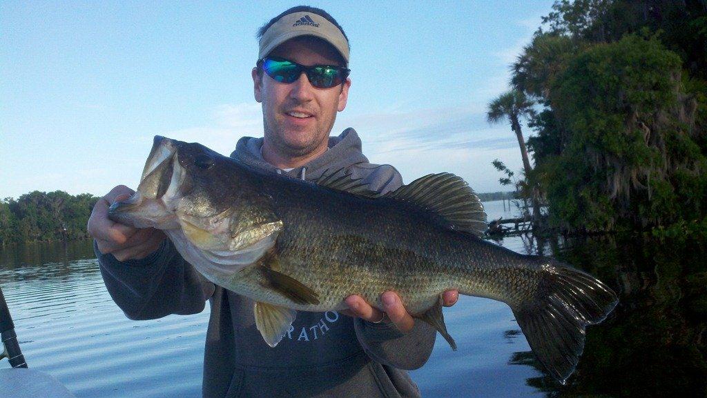 Carl randy and heath bass fishing florida lakes for Bass fishing in florida