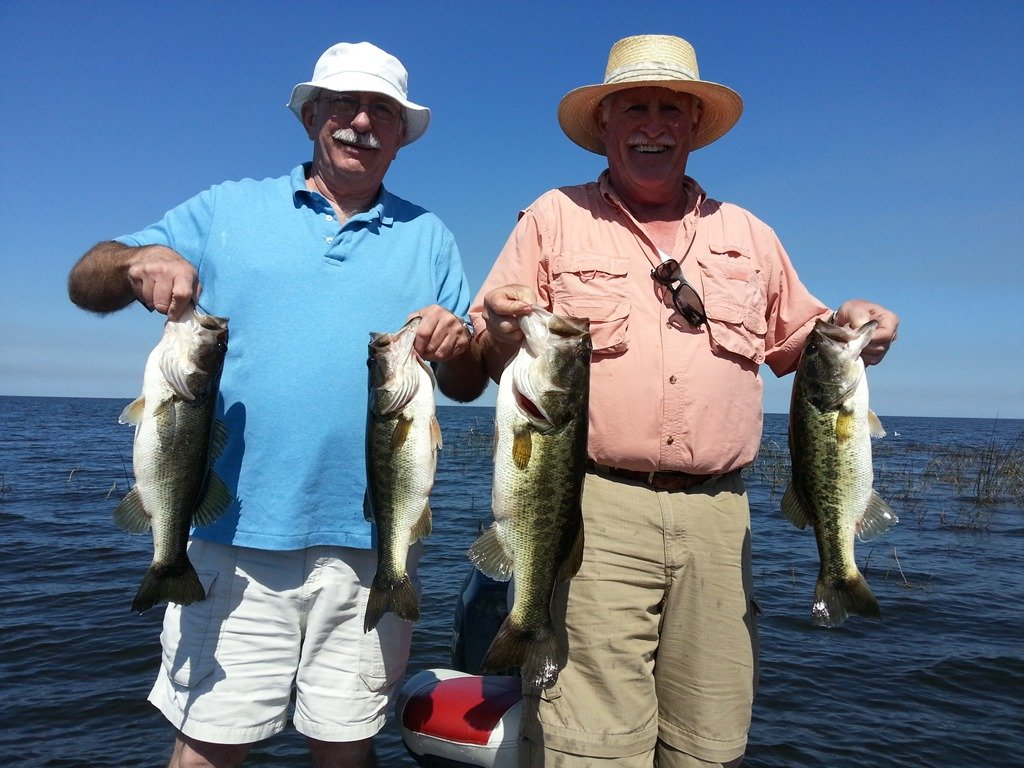 Fishing lake okeechobee with capt dave lauer for Capt dave fishing