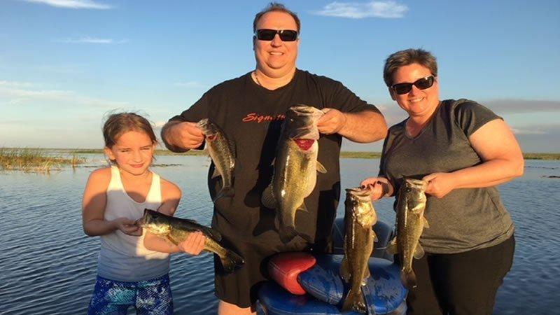 Florida Double Bass Fishing